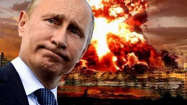 Владимир Путин и война