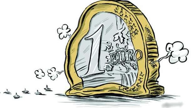 """Евро """"сдулось"""""""