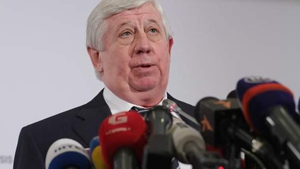 Віктор Шокін насправді і не планує поновитися на посаді генпрокурора