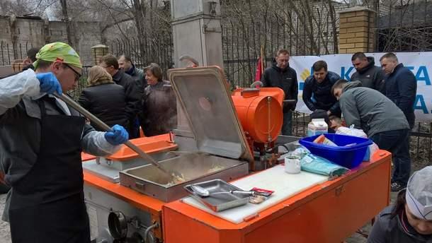 Кухни для использования в буферной зоне