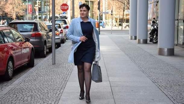 Савченко поразила новым женственным образом