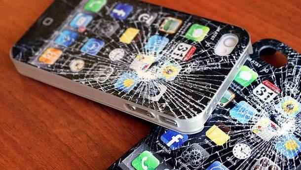 Розбитий смартфон
