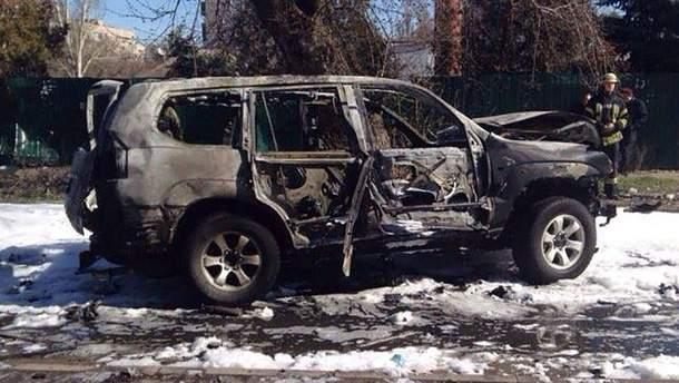 Взрыв авто в Мариуполе