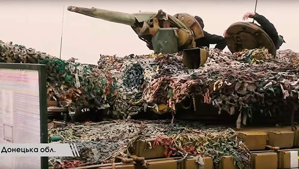Танковая бригада прошла обучение в зоне АТО
