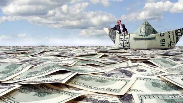 Деньги выводят в оффшоры