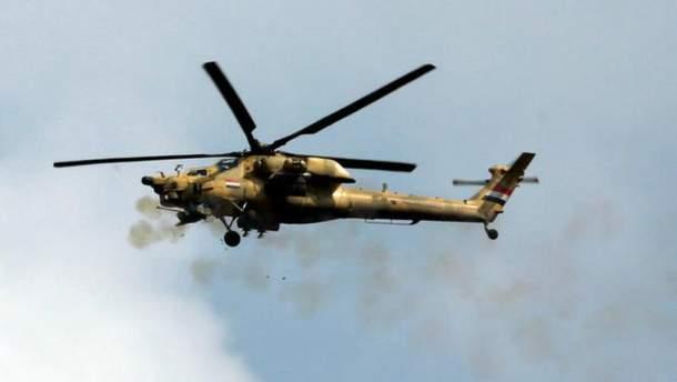 Военный вертолет армии Ирака
