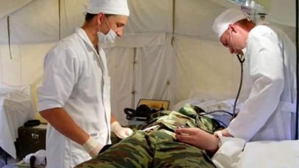 У зоні АТО багато поранених