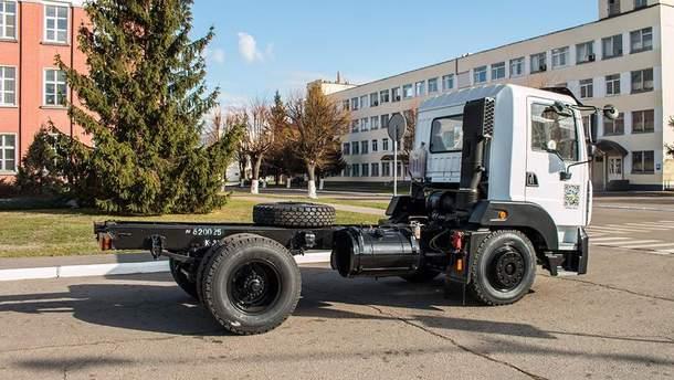Новый сверхлегкий КрАЗ-4501