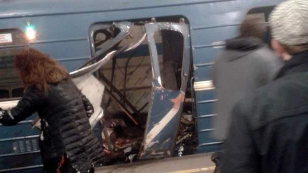 Взрыв на станции метро в Петербурге