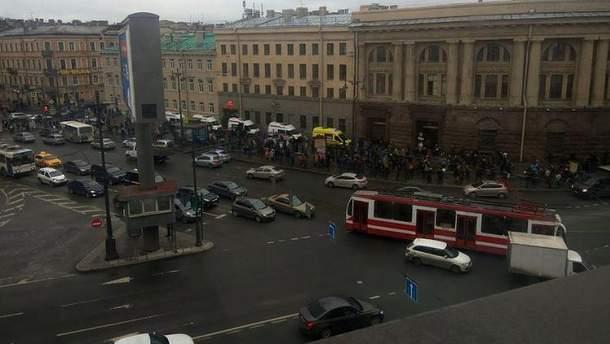 Вибух у Петербурзі