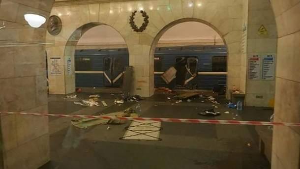 Взрыв в метро в Петербурге