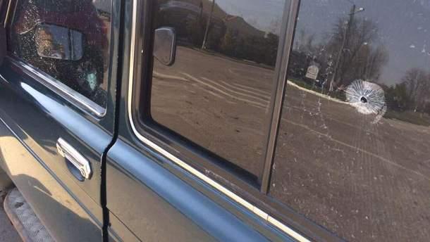 Розстріляне авто депутата від Радикальної партії