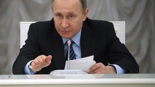 Путин одобрил запрет денежных переводов в Украину