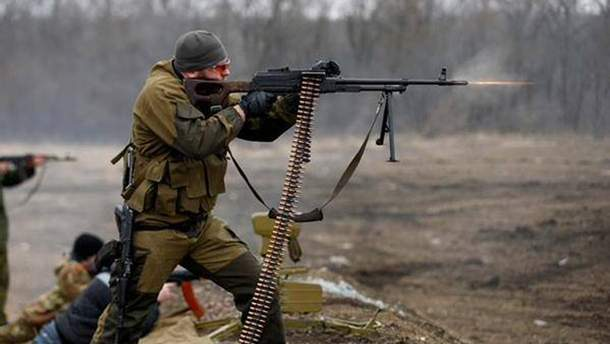 Боевики Донбасса не соблюдают прекращение огня и накрывают бойцов АТО обстрела из тяжелого оружия