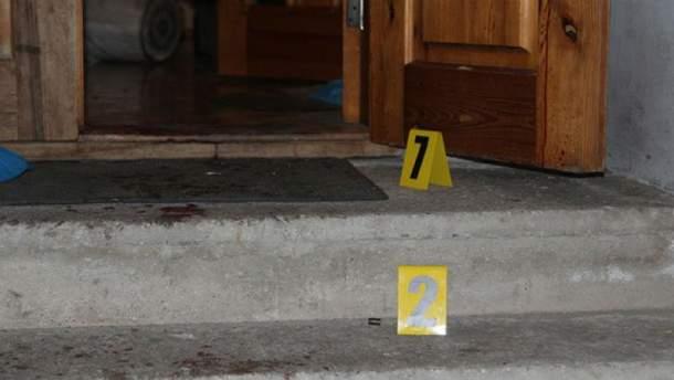 Фото з місця убивства