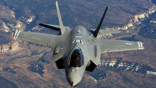 Истребитель США F-35A Lightning II