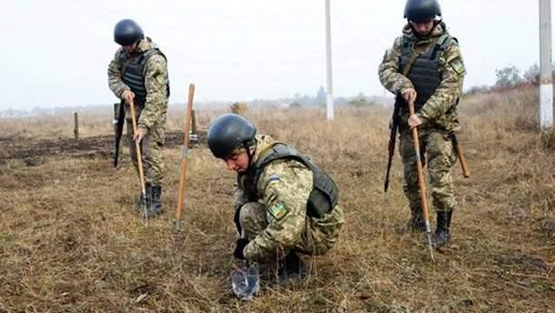 Украинские саперы