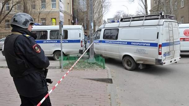 Наслідки вибуху у Ростові-на-Дону