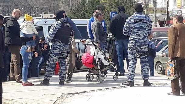Затримання у Сімферополі