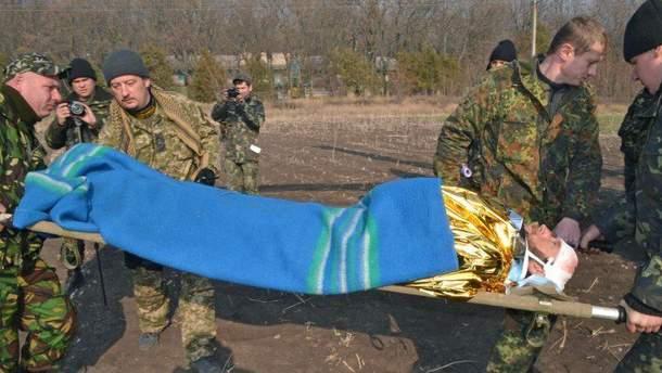 За минувшие сутки четыре украинских бойца получили ранения
