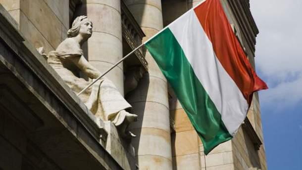 Вандали пошкодили на Закарпатті угорський стяг