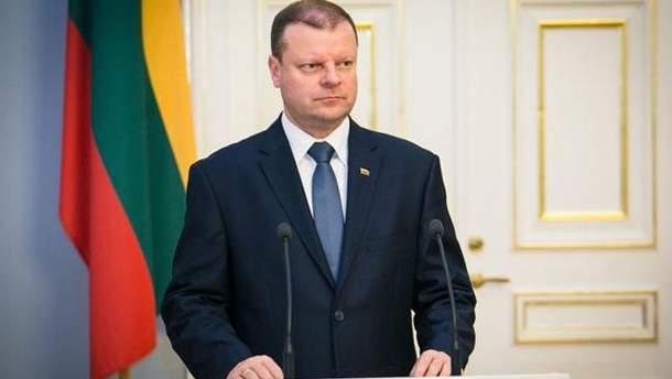 Саулюс Сквернялис заявил о ценности Украины для Европы