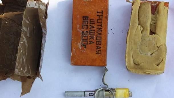 СБУ вилучила вибухівку в жінки, яка планувала теракт на Хмальниччині