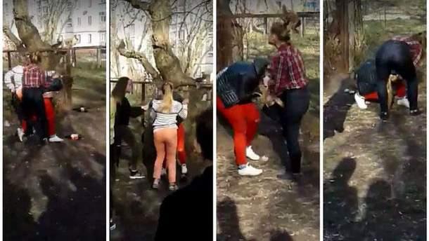 Избиение подростками школьницы Полины Малоштан в Чернигове