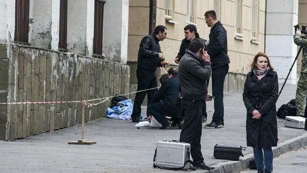 Наслідки вибуху в Ростові