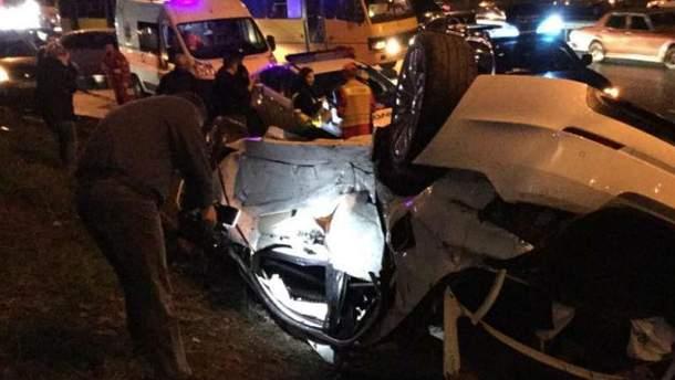 Смертельна аварія в Києві