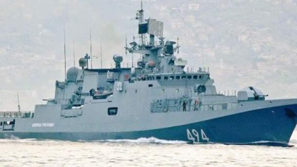 Росія терміново відправила свої військові кораблі до Сирії