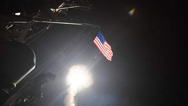 """Запуск ракет """"Томагавк"""" по Сирії"""