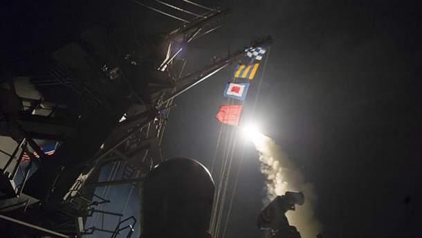 США нанесли ракетный удар по Сирии