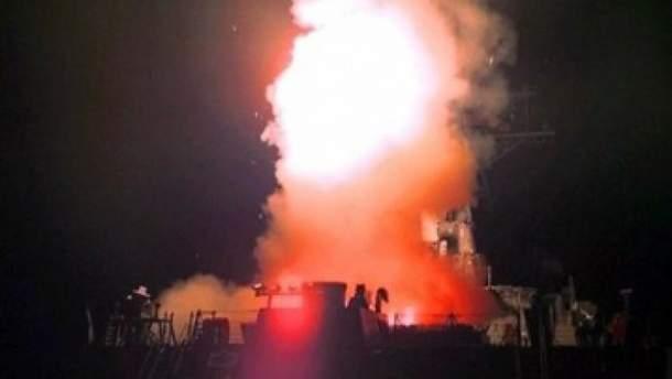 Ракетный удар по аеродрому Шайрат
