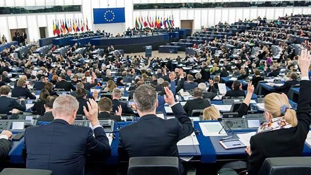 Голосування у Європарламенті