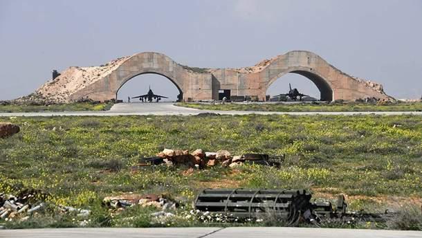 Авиабаза в Сирии