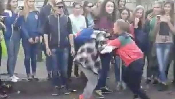 Жорстоке побиття Поліни Малоштан
