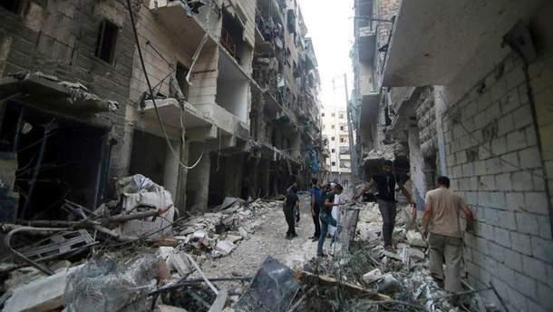 Атаки у Сирії