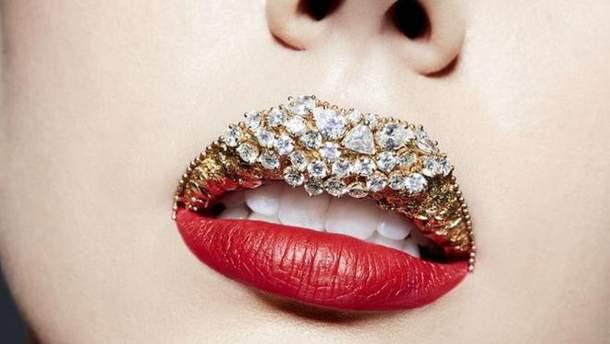 Алмазные губы