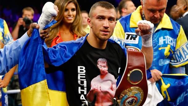 Василий Ломаченко будет боксировать против Джейсона Сосы