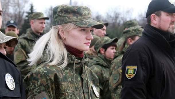 Офіцер  Ірина Кухтіна