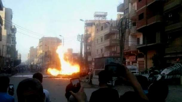 Взрыв в церкви в Египте