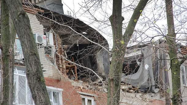 Последствия взрыва в Таганроге