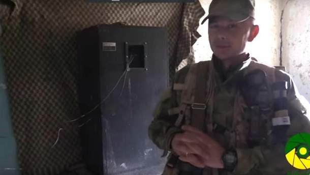 Украинские десантник