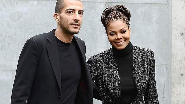 Джанет Джексон зі своїм чоловіком