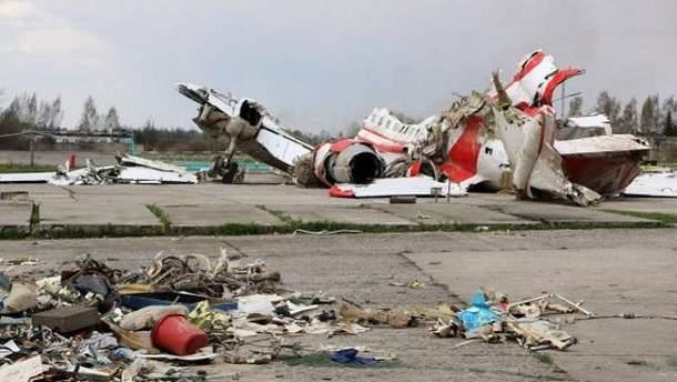 Авиакатастрофа Ту-154 под Смоленском