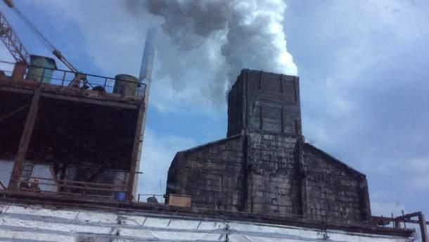 Завод на Донбассе