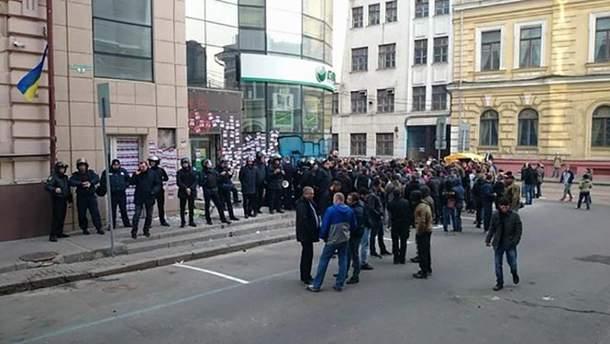 """Замуроване відділення """"Сбербанку"""" в Харкові"""