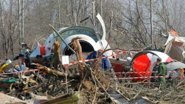На борту Ту-154 міг статись вибух