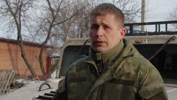 """Командир батальона """"Айдар"""" Максим Марченко"""